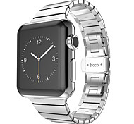 Hoco® Grand Series 2 Pointers Stainless steel Metal Soft Watchband for IWatch 42mm