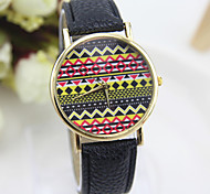 Hot sell   National wind  type strap fashion women's quartz watch folk style for female