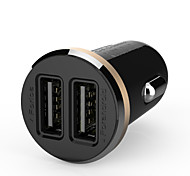 Ldnio® 12V~24V Dual Usb Car Charger Safety Voltage For Iphone/Samsung And Others(5V-2.1A)
