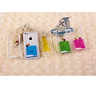 Plastic Material Double Color Small Fish Free Style for iPhone 5C (Assorted Colors)