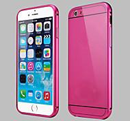 iPhone 6 - Rückseiten Cover - Spezial-Design (Schwarz/Blau/Rosenfarben/Golden/Silber , Metall)