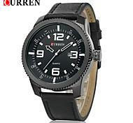 CURREN® Men's Army Design Military Watch Calendar Japanese Quartz Leather Strap Wrist Watch Cool Watch Unique Watch