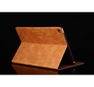 ciabattino ultra sottile disegno del basamento della copertura astuta di vibrazione pu custodia in pelle per l'aria Apple iPad (colori