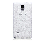 Transparent Flower TPU Soft Back Case for Samsung Galaxy Note 5/Note 5 Edge/Note 3/Note 4