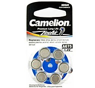 Camelion zinc A675 audiencia aire pila de botón de ayuda (6 piezas)