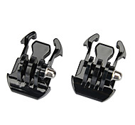 KingMa® 2pcs Black Buckle Basic Strap Mount Clips for GoPro Hero Session Hero4 3+ 3 2 1 SJ4000 SJ5000 Camera