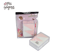 falta gorgeous® 4ps rosa& branco esponja de pó forma de triângulo maquiagem beleza maquiagem impecável esponja de pó suave