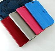 For Samsung Galaxy Case with Stand Case Full Body Case Solid Color PU Leather Samsung Grand Neo