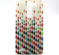 Colorful Diamond Pattern TPU Soft Case for LG L Bello D331 D335 D337