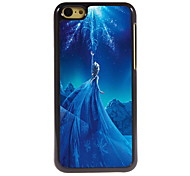 magie design en aluminium fille cas de haute qualité pour iPhone 5c