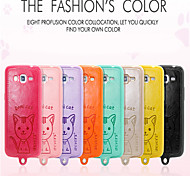 Leiers Dimicat case pu leather and tpu following whole package case for Samsung Grand 2/G7106