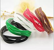 Leather Bracelet Leather Bracelets Daily/Casual 1pc