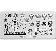 DIY Nail Art Stamp Stamping Image Template Plate/Nail Stencils Hallowmas Pattern