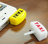 Anti-Dust Flashing Taxi Light Shaped 3.5mm Cellphone Ear Jack Stopper Plug (Random Color)