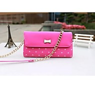 Outdoor Activities Multifunctional PU Leather Love Bow Messenger Bag(Assorted Colors)