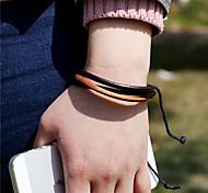 Unisex Vintage Leather Handcrafted Bracelet