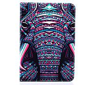 magie motif spider®color d'éléphant en cuir PU avec support de protection pour onglet de Samsung Galaxy s2 8,0 / s2 9,7