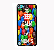 Keep Calm and Eat M&M's Design Aluminum High Quality Case for iPod Touch 5