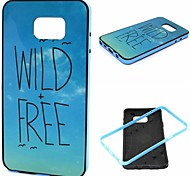 2-in-1 Wild Free Pattern TPU Back Cover with PC Bumper Shockproof Soft Case for Samsung Note 5