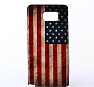 USA Muster TPU weichen Fall für Samsung-Galaxie s6 Kante sowie