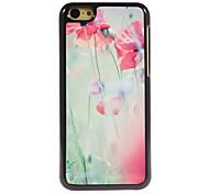 le cas floraison design en aluminium de fleurs de haute qualité pour iPhone 5c
