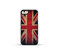 GMZS Wooden Case UK Flag Bamboo Back Cover for iPhone6