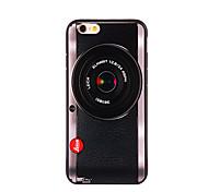 caso duro cámara pattern pc para el iphone 6 más