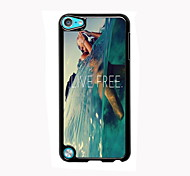 Live Free Design Aluminum High Quality Case for iPod Touch 5