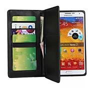 Para Samsung Galaxy Note Cartera Funda Cuerpo Entero Funda Un Color Cuero Sintético Samsung Note 3
