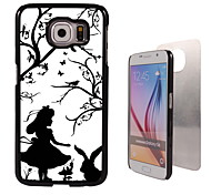 Girl Design Aluminum High Quality Case for Samsung Galaxy S6