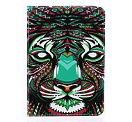 magie motif spider®color tigre cuir PU avec support de protection pour onglet de Samsung Galaxy s2 8,0 / s2 9,7