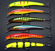 M&X Hard Bait Lifelike Minnow Crankbait 155mm/40g 6Pcs Fish Hook Fishing Tackle Fishing Lure Set