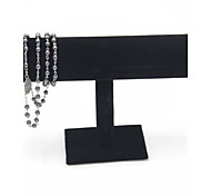 Black Velvet Bracelet T-Bar Jewelry Display Stand Rack