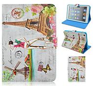Fashion Architectural Girl Painted Protective Sleeve for iPad Minii/Mini1/Mini2/Mini3