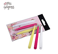 MISS GORGEOUS 3in1 Different Design Stainless Steel Tweezers Trio Make Up Tool Eyebrow Hair Removal Cosmetic