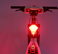 caoku 3 Modus 80 Rückleuchten Batteriezellen-Batterien einfach zu Fahrrad 150 schwarz tragen