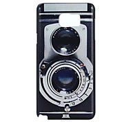 Retro Camera Pattern PC Hard Case For Galaxy Note 5