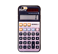 Calculator Pattern PC Hard Case for iPhone 6