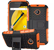 Mix Color TPU&PC Heavy Duty Armor Stand Case for MOTO E2(Assorted Colors)