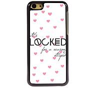 Locked Design Aluminum High Quality Case for iPhone 5C
