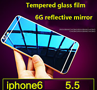 High quality Screen Protector Membrane Tempered Glass Film 9H Color Plating Explosion Proof for iPhone 6S/6 Plus
