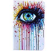 ojo con estilo de cuero plana pintada de 's2 pestaña y la galaxia 8.0' 9.7 galaxy tab samsung s2
