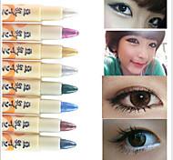 Lápices de Ojos Lápiz Seco Gloss colorido / Natural / Secado rápido / Transpirable