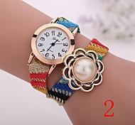 2015  New Fashion  Women Watches Gold Wristwatch Ladies Quartz Watches Geneva   Flower  Bracelet XR1270