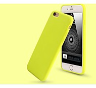 Moshuo™ High Quality Ultra Thin Silicone Back Case Cover for iPhone 6/6S (Assorted Colors)