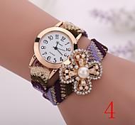 2015  New Fashion  Women Watches Gold Wristwatch Ladies Quartz Watches Geneva   Flower  Bracelet XR1272