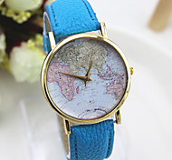Popular folk style map series skin Damen quartz watch fashion popular Yiwu watch speed sold pass