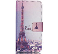 Iron Tower PU Leather Full Body Case with Screen Protector And Stand for iPod Touch 5