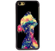 The Girl Design Aluminum High Quality Case for iPhone 5C
