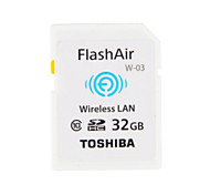 Original TOSHIBA 32GB Class10 FlashAir Wifi SDHC Memory Card Wireless